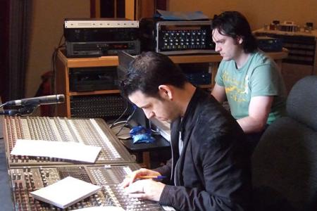 Jon Cohen & Al Unsworth hard at work on Encore