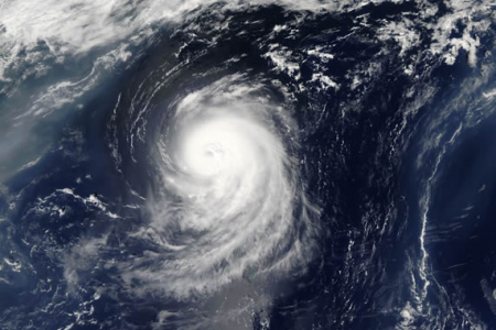 Hurricane Irene viewed from space courtesy of NASA