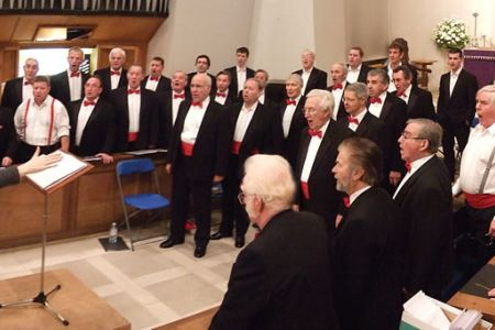68.Rehearsal at St Francis Church Bournville - 6th December