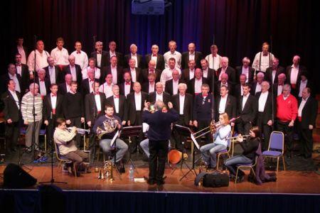 58.Rehearsal with Fine Arts Brass, 21st November, in the Wm Aston Hall, Wrexham